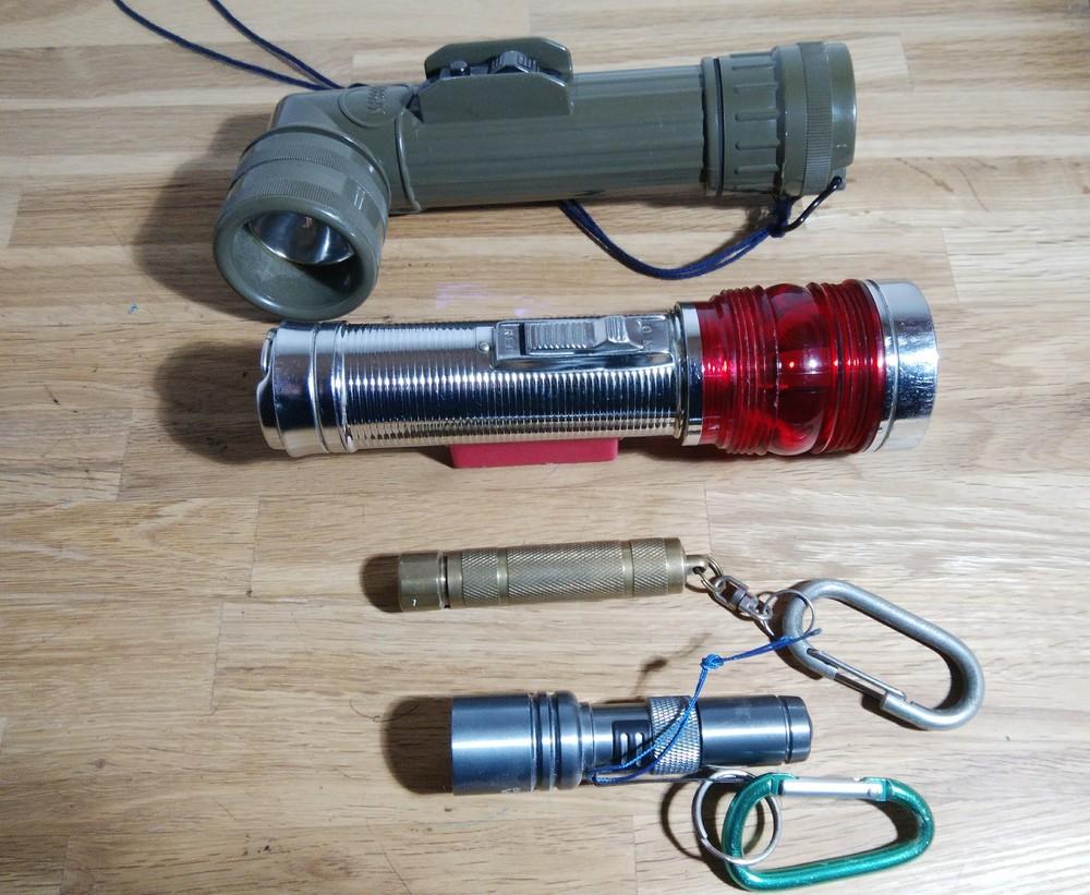 LED懐中電灯比較