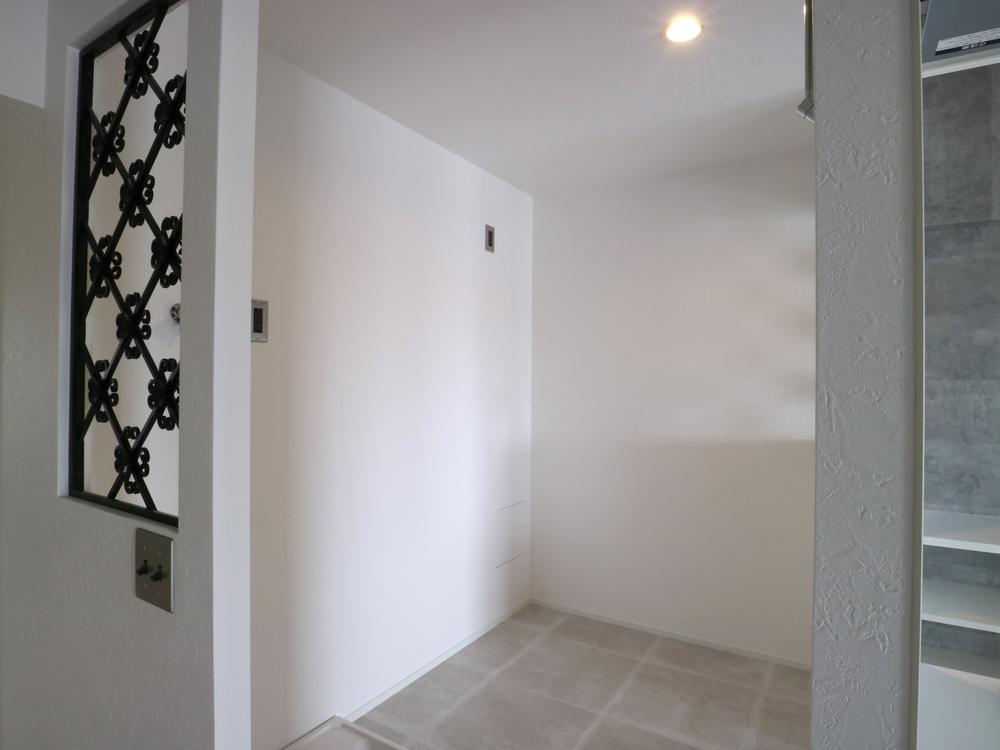 廊下からもアクセスできます
