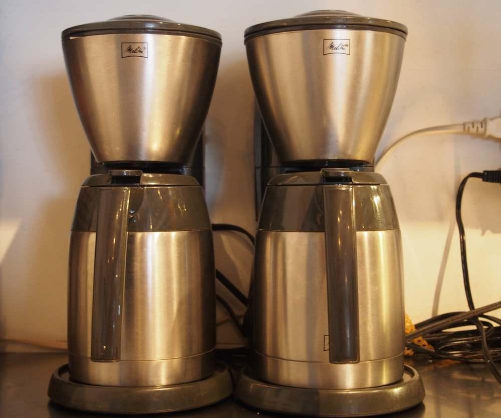 Melittaのコーヒーメーカー×2台